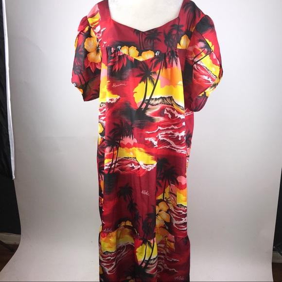 b493a0ce73b0 Vintage kalena fashions Hawaiian muumuu 2x plus. M_5ac451be3800c50d2461fd6f